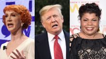 Kathy Griffin calls Trump a 'stupid racist piece of s***' after he says April Ryan is 'a loser' and 'nasty'