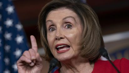 Trump's 'insecurity as an impostor' drives him: Pelosi