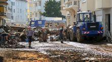 THW-Helfer in Flutgebieten beschimpft und mit Müll beworfen