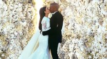 Kim Kardashian Shares Behind-the-Scenes Photos from Wedding to Kanye West on 5th Anniversary