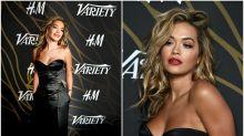 El corsé de Rita Ora en los Variety's Power of Young Hollywood