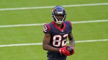 WATCH: Texans WR Isaiah Coulter works against CB Terrance Mitchell