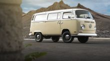 This gorgeous 1972 Volkswagen Bus hides an electrified surprise