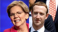 Warren Takes Facebook's Ad Policy, Fires It Right Back At Zuckerberg And Trump