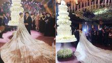 Una rusa se gasta más de medio millón de euros en su vestido de novia