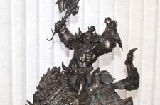 """""""Employee only"""" bronze Orc and wolf statue finds its way onto eBay"""