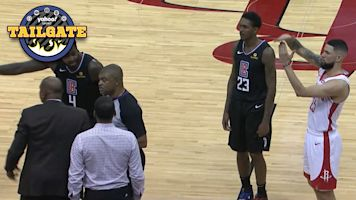 NBA star calls for dad to be ejected from rival bench