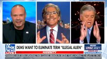 Geraldo Rivera gets shouted down on 'Hannity' for condemning the term 'illegal alien'
