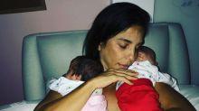 Gêmeas de Ivete Sangalo completam dois meses de vida