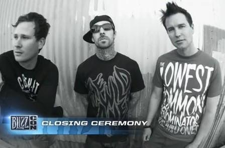 Blink-182 will bring BlizzCon to an 'epic conclusion'