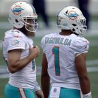 Rocky start to Dolphins' QB transition to Tua Tagovailoa