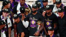 NBA : les Los Angeles Lakers de LeBron James champions, la mémoire de Kobe Bryant honorée