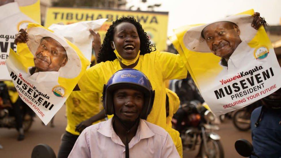 Uganda's Yoweri Museveni overcomes Bobi Wine challenge - for now
