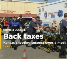 Kansas shooting suspect owes almost $400,000 in unpaid taxes