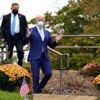 Biden accuses Trump of raising the 'white flag' on pandemic after White House says US won't 'control' coronavirus