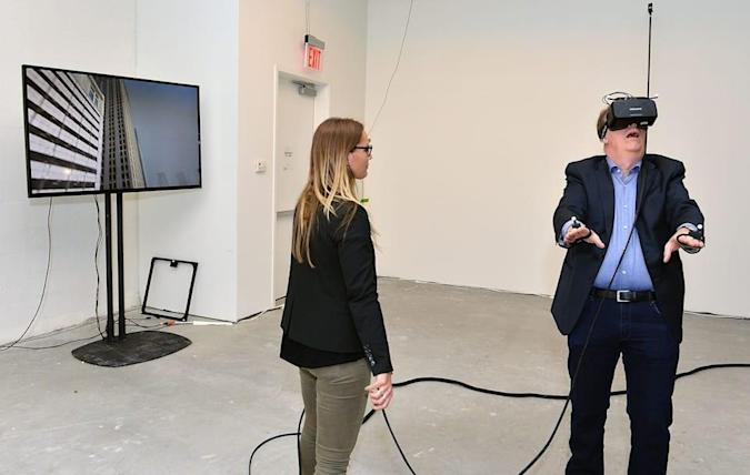 How cheap VR helped a Stanford professor bring his dream to Tribeca