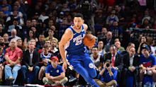 Ben Simmons' Nike jersey gets ripped apart