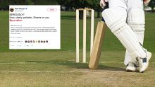 Local cricketer cops whopping ban for 'pathetic' act of poor sportsmanship