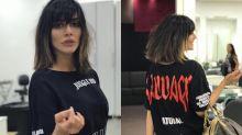 Cleo Pires muda o visual e doa o cabelo para ONG