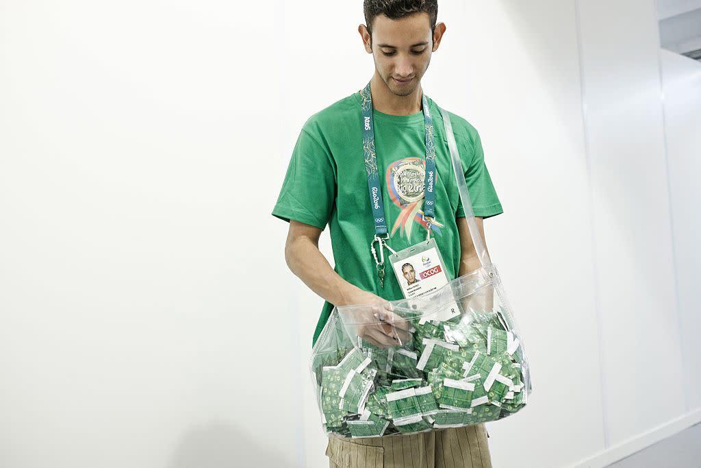 IOC to provide 42 condoms per athlete at 2016 Rio de Janeiro Olympics