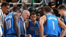 Rick Carlisle, deep into Mavericks blowouts, is now calling timeouts that he doesn't have