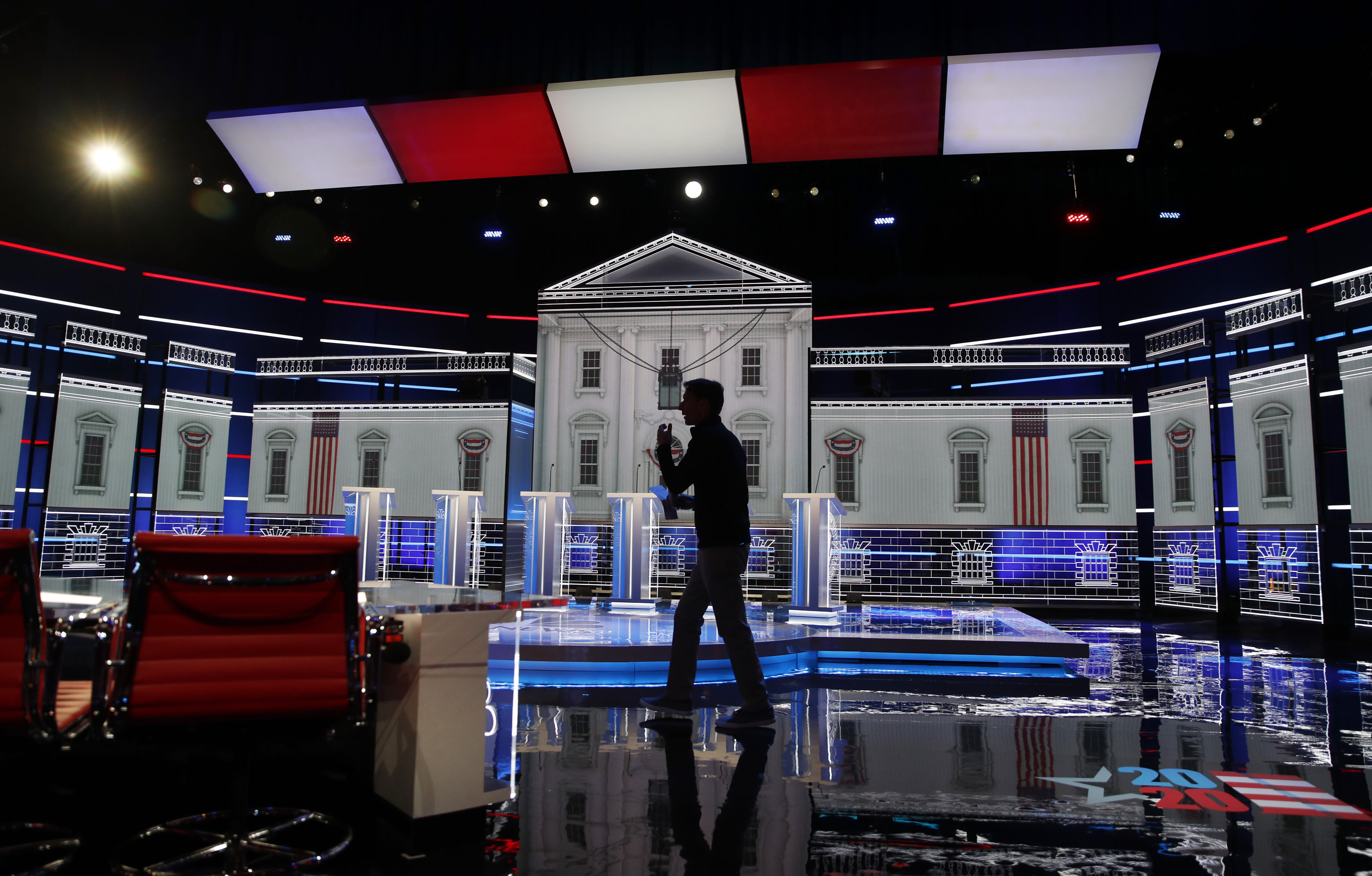 Bloomberg seeks to regain footing after uneven debate debut