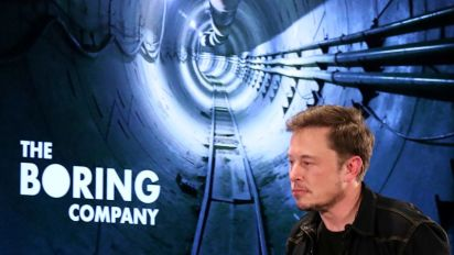 Tesla shares fall after CEO Musk abuses British diver