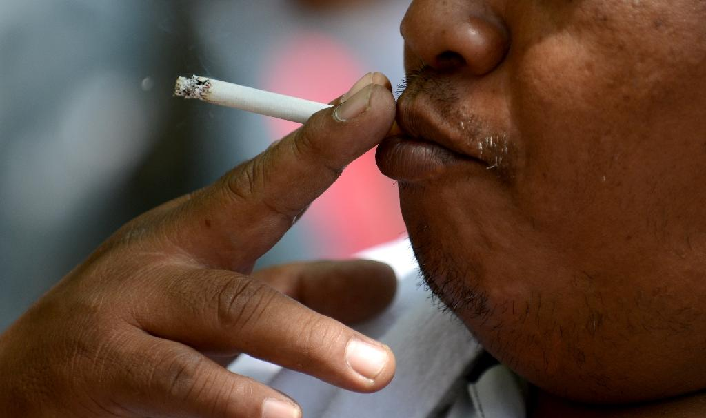 The Philippines remains one of 15 nations worldwide with a heavy burden of tobacco-related ill health, according to the World Health Organization (AFP Photo/Noel Celis)