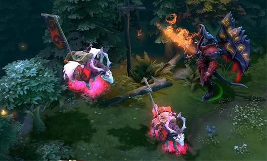 DotA 2 pink war dog courier sells for $38,000 | Engadget