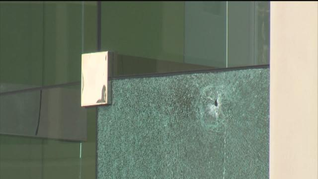 Lone gunman fires all around Largo office building lobby....then shoots self