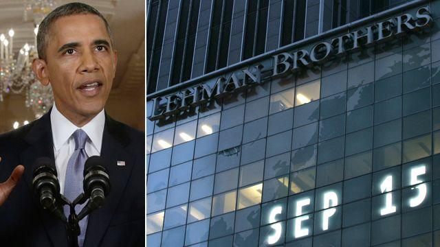 Obama to speak on anniversary of Lehman Brothers collapse