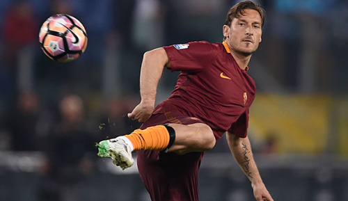 Serie A: Totti beendet Karriere am Saisonende