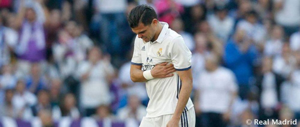 Pepe se mostra magoado com adeus: 'O jeito do Real não foi correto'