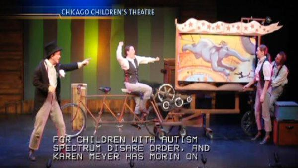 Chicago Children's Theatre performing play for autistic kids