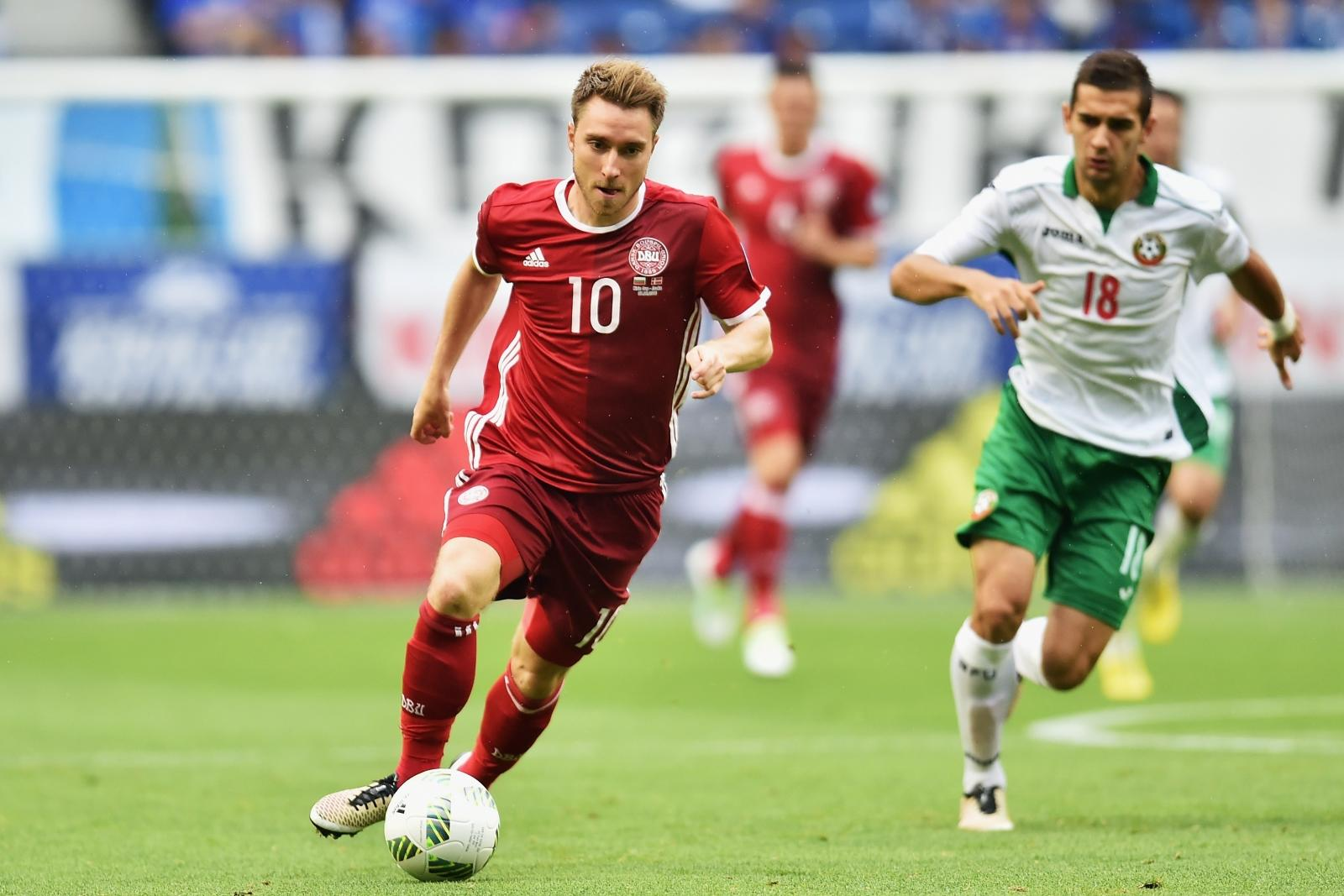 Tottenham midfielder Christian Eriksen omitted from Denmark Olympic squad
