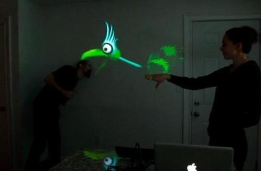 Kinect hack creates world's greatest shadow puppet (video)