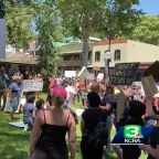 George Floyd protest held in downtown Sonora