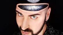 This Italian makeup artist creates optical illusions on his own body