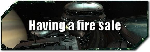 EVE Evolved: Having a fire sale