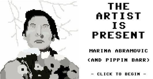 The Artist is Present is a game about waiting in line at a museum