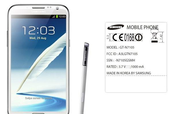 Galaxy Note II makes first FCC appearance, variant lacks US-friendly LTE bands