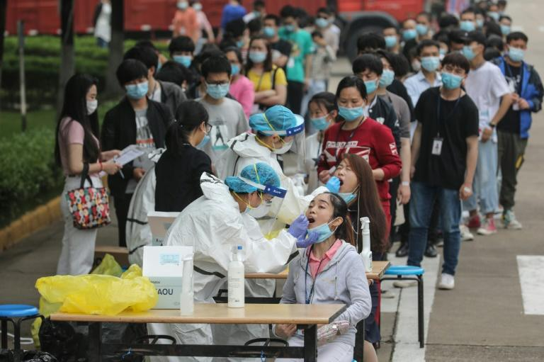 Wuhan officials launched the programme after new infections emerged for the first time since the city re-opened in April