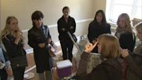 Flyers Wives help tranform home for deserving family