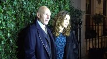 Sir Patrick Stewart and Simon Pegg among stars at pre-Bafta Awards dinner party in London