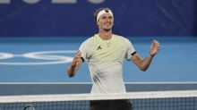 Zverev wins Olympic men's singles gold
