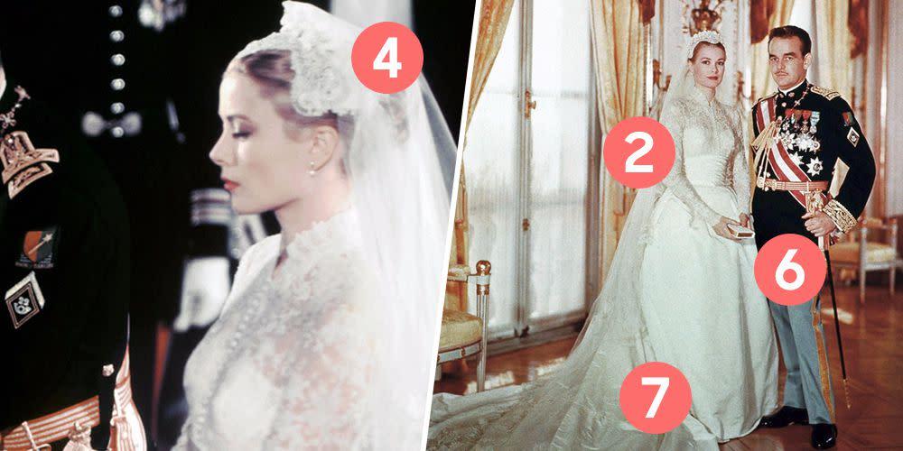 Grace Kelly Wedding Dress.10 Hidden Details You Didn T Know About Grace Kelly S Wedding Dress