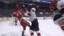Devils' John Hayden fined for nasty cross-check to face of Red Wings' Tyler Bertuzzi