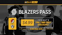 "Trail Blazers vs. Nets available for $4.99 via ""Blazers Pass"""