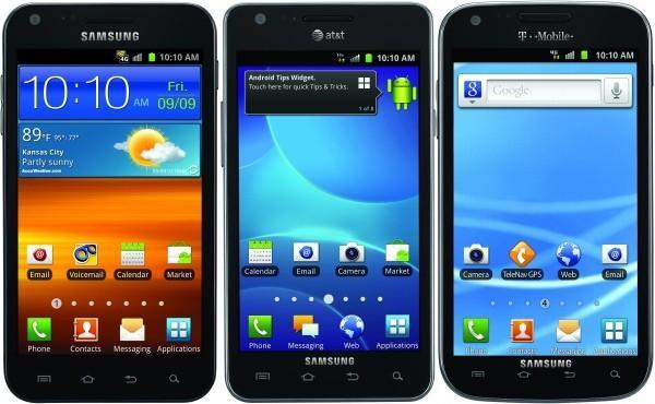 Galaxy S II finally lands on American shores for Sprint, T-Mobile and AT&T