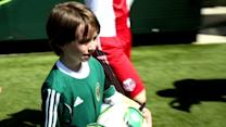 Boy Fighting Cancer Scores 4 Goals Against Portland Timbers